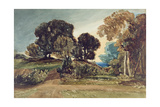 A Wooded Park Giclee Print by John Sell Cotman