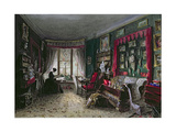 Our Sitting Room in London, 1849 Giclee Print by Lady Honoria Cadogan