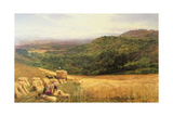 Harvest Time, 1860 Giclee Print by George Vicat Cole