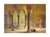 Haghia Sophia, Plate 11: the Meme Gallery in the South West Corner, Engraved by Louis Haghe… Giclee Print by Gaspard Fossati