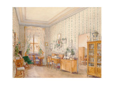 Interior of a Sitting Room, 1870 Giclee Print by Franz Alt