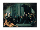 The Senators of Florence Swearing Allegiance to the Grand Duke of Tuscany, 17th Century Giclee Print by Justus Sustermans