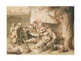 The Dentist, 17th Century Giclee Print by Lambert Doomer