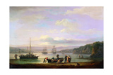 River Teign, Devon Giclee Print by Thomas Luny