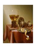 Still Life with Oysters Giclée-Druck von Jan III van de Velde