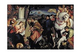Adoration of the Kings Giclee Print by Jacopo Bassano