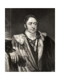James Walter Grimston, 1st Earl of Verulam, Engraved by H. Robinson, from 'National Portrait… Giclee Print by William Owen