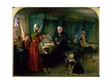 The Sick Room, 1864 Giclee Print by Emma Brownlow