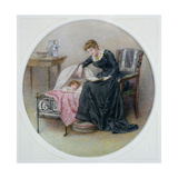A Goodnight Story Giclee Print by George Goodwin Kilburne