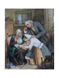 Good News, 1863 Giclee Print by Thomas Faed