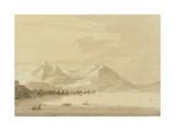 Lake Como Giclee Print by John Robert Cozens