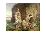 The Past and Present, 1860 Giclee Print by William McTaggart