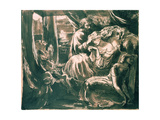 The Death of Lady Macbeth, 19th Century Giclee Print by Dante Charles Gabriel Rossetti