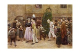 May Day, 1869 Giclee Print by Charles Green