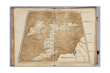 Tabula Prima Europa, from 'Geographie Opus Novissima Traductione E Grecorum Archetypis… Giclee Print by  Ptolemy