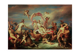 The Triumph of Venus Giclee Print by Francesco Podesti