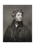 George James Agar-Ellis, 1st Baron Dover, Engraved by E. Scriven (1775-1841), from 'National… Giclee Print by Thomas Phillips