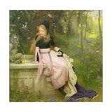 The Princess and the Frog, 1894 Giclee Print by William Robert Symonds