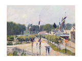 Fourteenth of July at Marly-Le-Roi, 1875 Giclee Print by Alfred Sisley