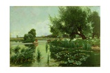 Summer, One of a Set of the Four Seasons (Detail) Giclee Print by Arthur Walker Redgate
