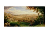View of Bradford, 1849 Giclee Print by William Cowen