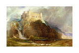 Harlech Castle: Four Square to All the Winds That Blow Giclee Print by Henry Clarence Whaite
