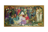 The Blessed Damozel, 1895 Giclee Print by John Byam Liston Shaw