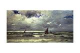 Seascape Giclee Print by Karl Pierre Daubigny