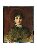 Portrait of a Woman with Dark Hair, 1884 Giclee Print by Valentine Cameron Prinsep