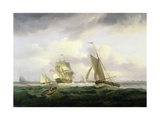 In the Channel Giclee Print by Thomas Luny