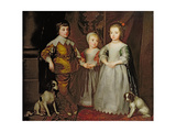 The Children of Charles I Giclee Print by Catherine Read