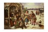 Christmas Morning, 1865 Giclee Print by Thomas Falcon Marshall