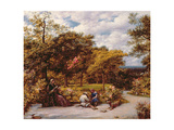 My Garden at Redhill, 1859 Giclee Print by John Linnell