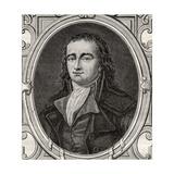 Pierre Gaspard Chaumette (1763-94) from 'Histoire De La Revolution Francaise' by Louis Blanc… Giclee Print