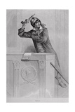 Jean Paul Marat (1743-93) Inciting Revolution, Engraved by Stephane Pannemaker (1847-1930) Giclee Print by Eugene Joseph Viollat