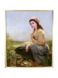 The Harvester Giclee Print by Edward John Cobbett