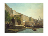 Adelphi Terrace and York Watergate Giclee Print by Daniel Turner