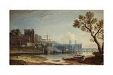View of Chester, 1810 Giclée-Druck von John Varley