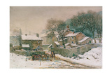 Heysham in Winter Giclee Print by William Woodhouse