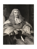 Charles Abbott, 1st Baron Tenterden, Engraved by W. Holl, from 'National Portrait Gallery, Volume… Giclee Print by John William Wright