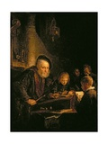 The Schoolmaster, 1645 Giclee Print by Gerrit or Gerard Dou