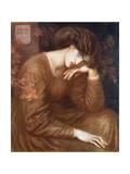 Reverie, 1868 Giclee Print by Dante Gabriel Rossetti
