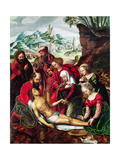 The Deposition, 16th Century Giclee Print by Bernard van Orley
