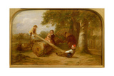 See-Saw, 1849 Giclee Print by Thomas Webster