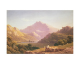 View in North Wales Giclee Print by George Fennel Robson