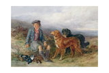 The Young Ghillie, 1871 Giclee Print by James Jnr Hardy