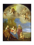 The Holy Family Giclee Print by Cornelis Van Poelenburgh Or Poelenburch