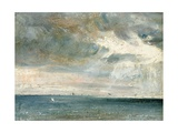 Study of Sea and Sky (A Storm Off the South Coast) Stampa giclée di John Constable