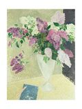 Lilacs Giclee Print by Glyn Warren Philpot