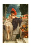 On the Temple Steps, 1889 Giclee Print by Edward John Poynter